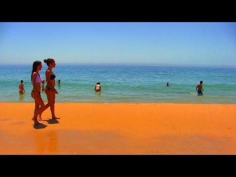 Praia de Carcavelos - Playa de Carcavelos, cerca de Cascais, Portugal