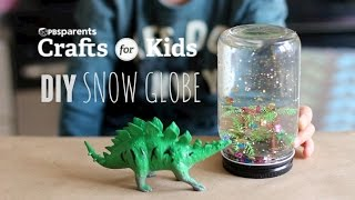 DIY Snow Globe | Crafts for Kids | PBS Parents