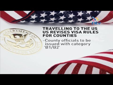 The US will not issue special visas to governors and county officials