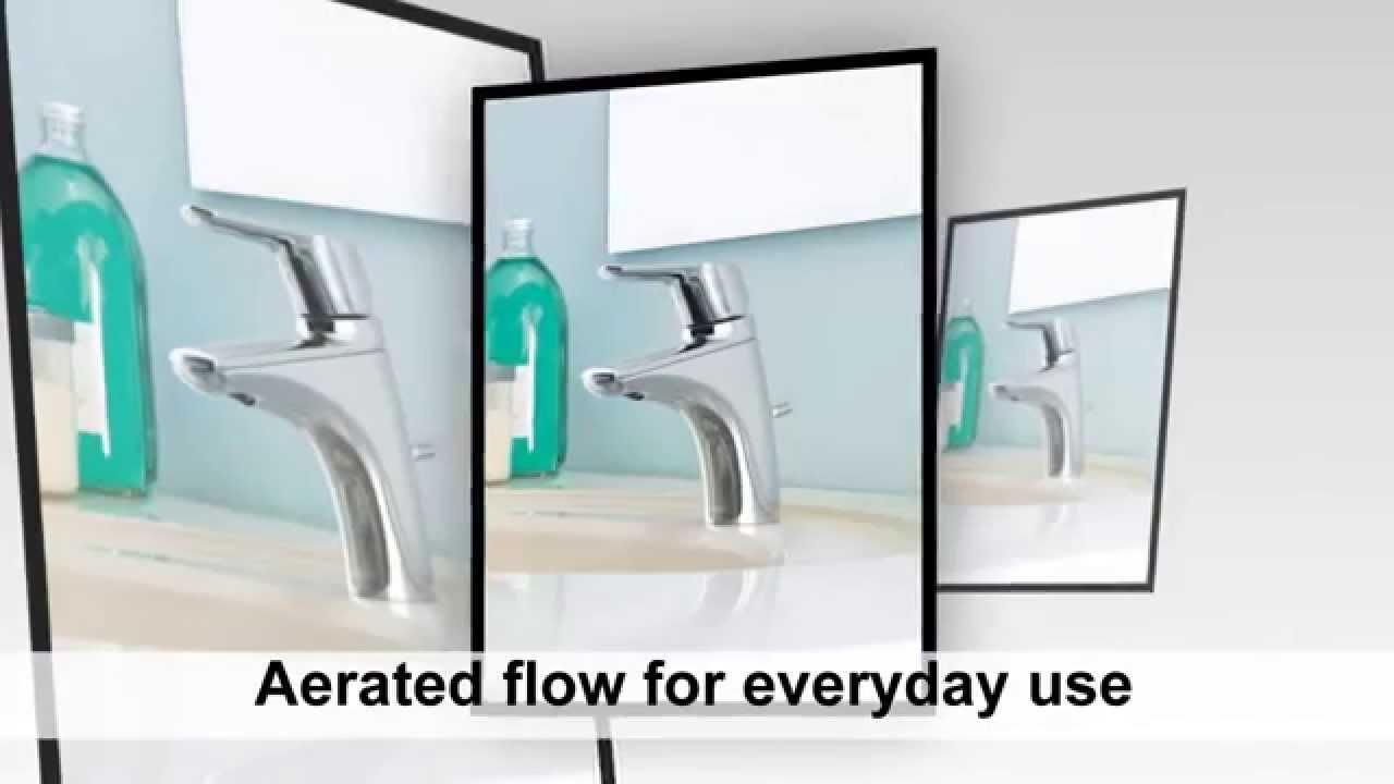 Moen 6810BN Method One Handle Low Arc Bathroom Faucet Reviews - YouTube