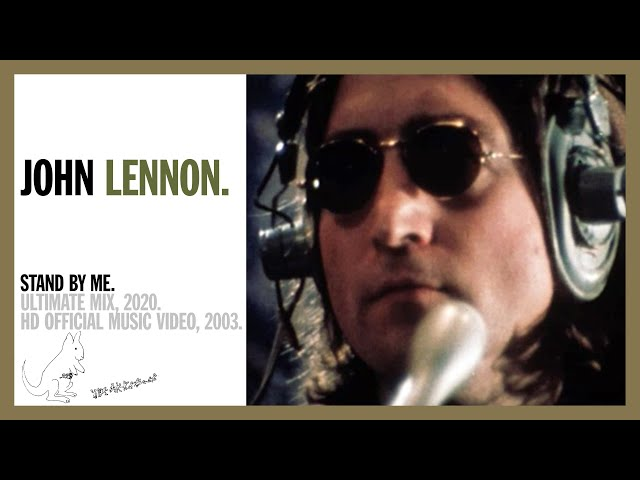 Stand By Me - John Lennon (official music video)