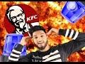 24 Stunden im KFC (ALARM AUSGELÖST, POLIZEIEINSATZ) Parodie