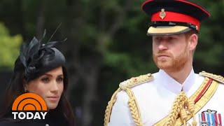 Prince Harry And Meghan Markle Stun Royal Family And The World | TODAY