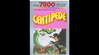 Let's Play #69 Centipede for the Atari 7800