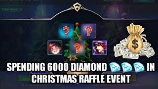 TIME TO SPEND MONEY • MOBILE LEGENDS CHRISTMAS RAFFLE • MOBILE LEGENDS NEW EVENT