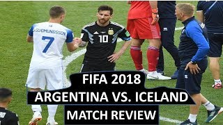 argentina vs iceland fifa world cup 2018 Match review Today Sports