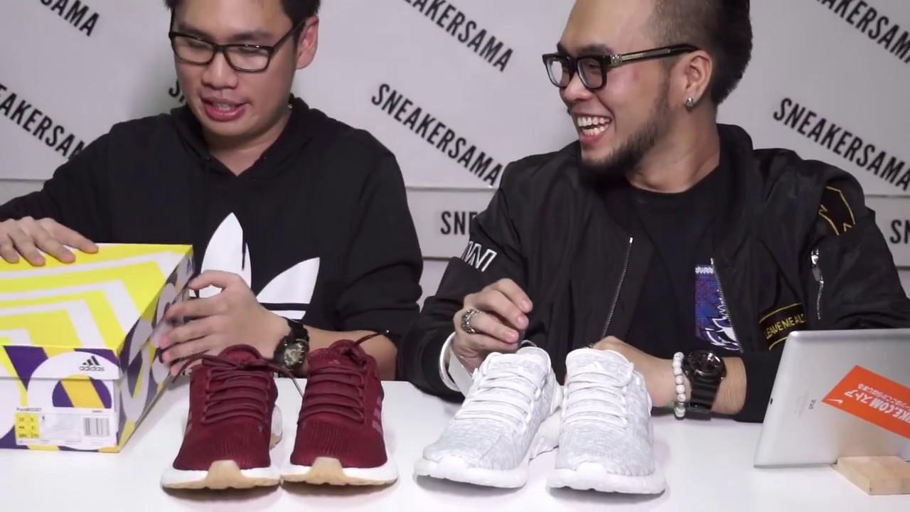รีวิว Adidas Pure Boost 2017 เหมาะกับวิ่งแต่เดินธรรมดาก็หล่อเหมือนกันนะ  — SneakerSAMA EP. 8