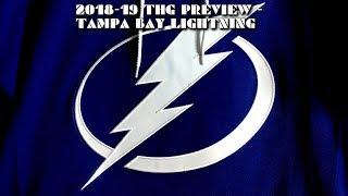 2018-19 Tampa Bay Lightning Season Preview