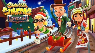 🎅 Subway Surfers World Tour 2018 - London - All New Christmas Holiday Characters & Boards