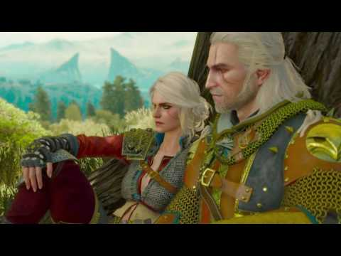 Witcher 3:Blood and WIne - Ciri Moves in - Ending