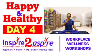 Day 4 Happy Healthy 21 Day Challenge - Pranayama Breathing Exercises