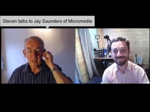 Steven chats with Jay Saunders of Micromedia WBC Interview