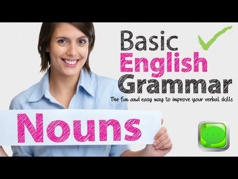 Basic English Grammar -- Noun   English speaking   Spoken English   ESL  Free English Lesson