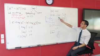 Graphing with Complex Numbers (2 of 3: Determining the region)