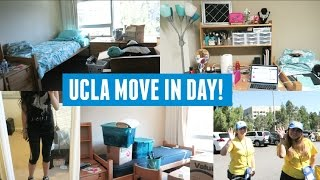 UCLA MOVE IN DAY! (Moving to College & Unpacking)