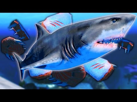 Feed and Grow Fish - NEW PLAY AS THE KING GREAT WHITE SHARK, REAL MEANING OF OVERPOWERED - Gameplay
