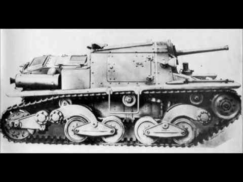 Italian Tanks from 1915 to 1945 (WW1 and WW2)