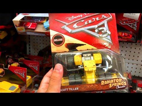 NEW Disney Cars 3 Toys Hunt WE FOUND SCOTT TILLER Radiator Springs Classic Combine Harvester