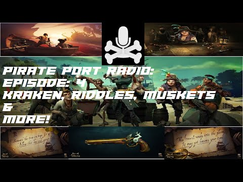 Pirate Port Radio Episode 4: Kraken, Contract, Riddles, Facebook Page, & More!