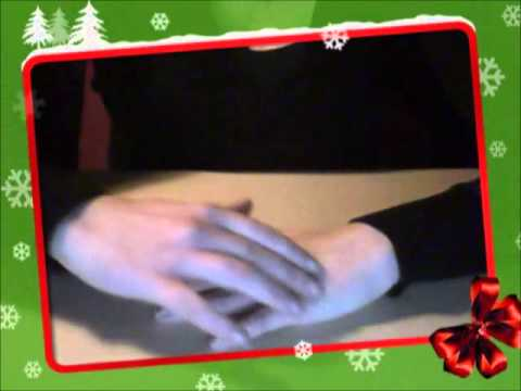 Christmas ~~ASMR~~ trigger video (hand movements and arm tickling)