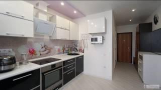 видео Голубая кухня в Санкт-Петербурге - Дизайн интерьера голубой кухни: фото и цены