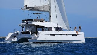 Nautitech 46 Fly catamaran walkthrough at Cannes 2016