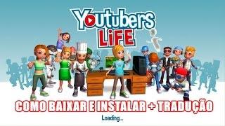 COMO BAIXAR E INSTALAR YOUTUBERS LIFE V 0.7.11 + TRADUÇÃO