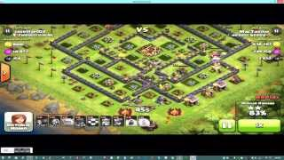 Clash Of Clans Attack - How to GoWiWi