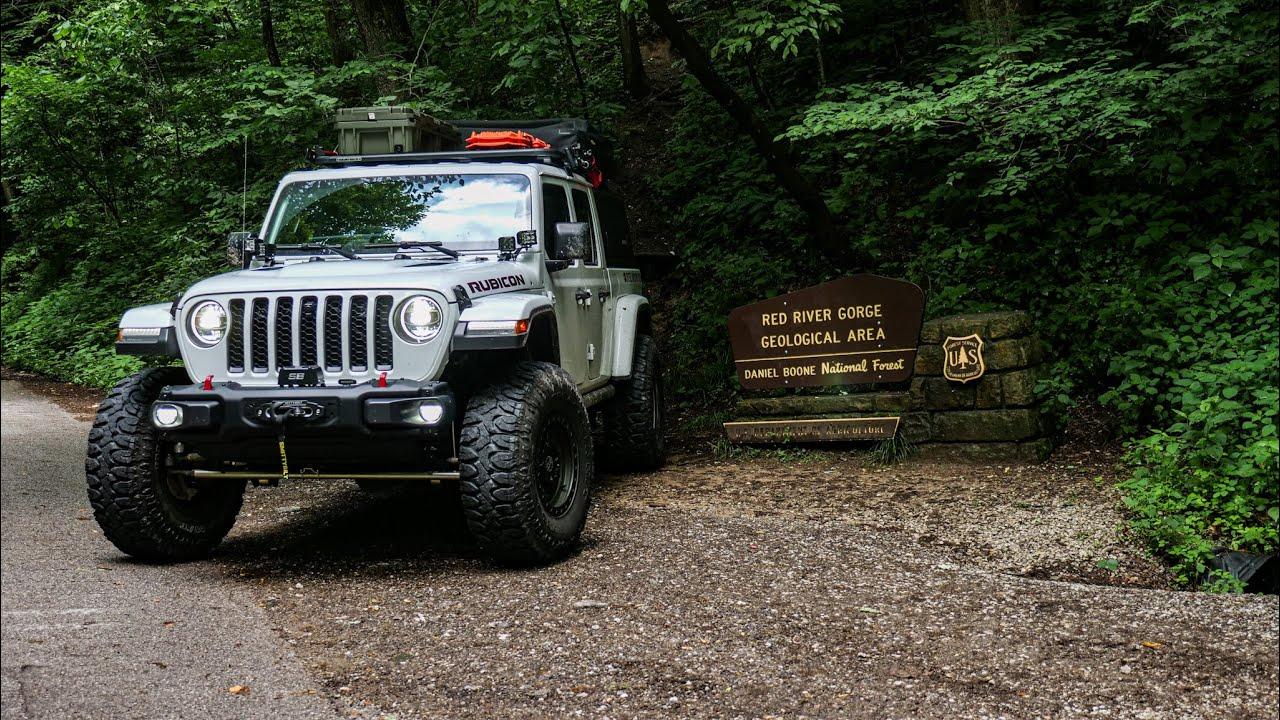 Jeep Gladiator Overlanding Daniel Boone National Forest (2021)