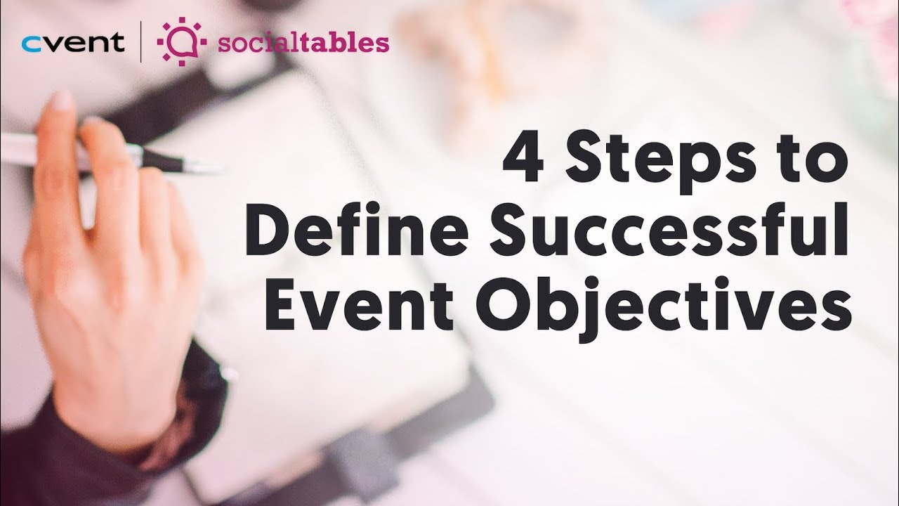 Defining Event Goals and Objectives That Actually Make an Impact