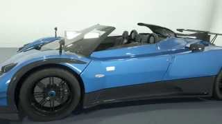 Pagani Zonda R first official renders Videos