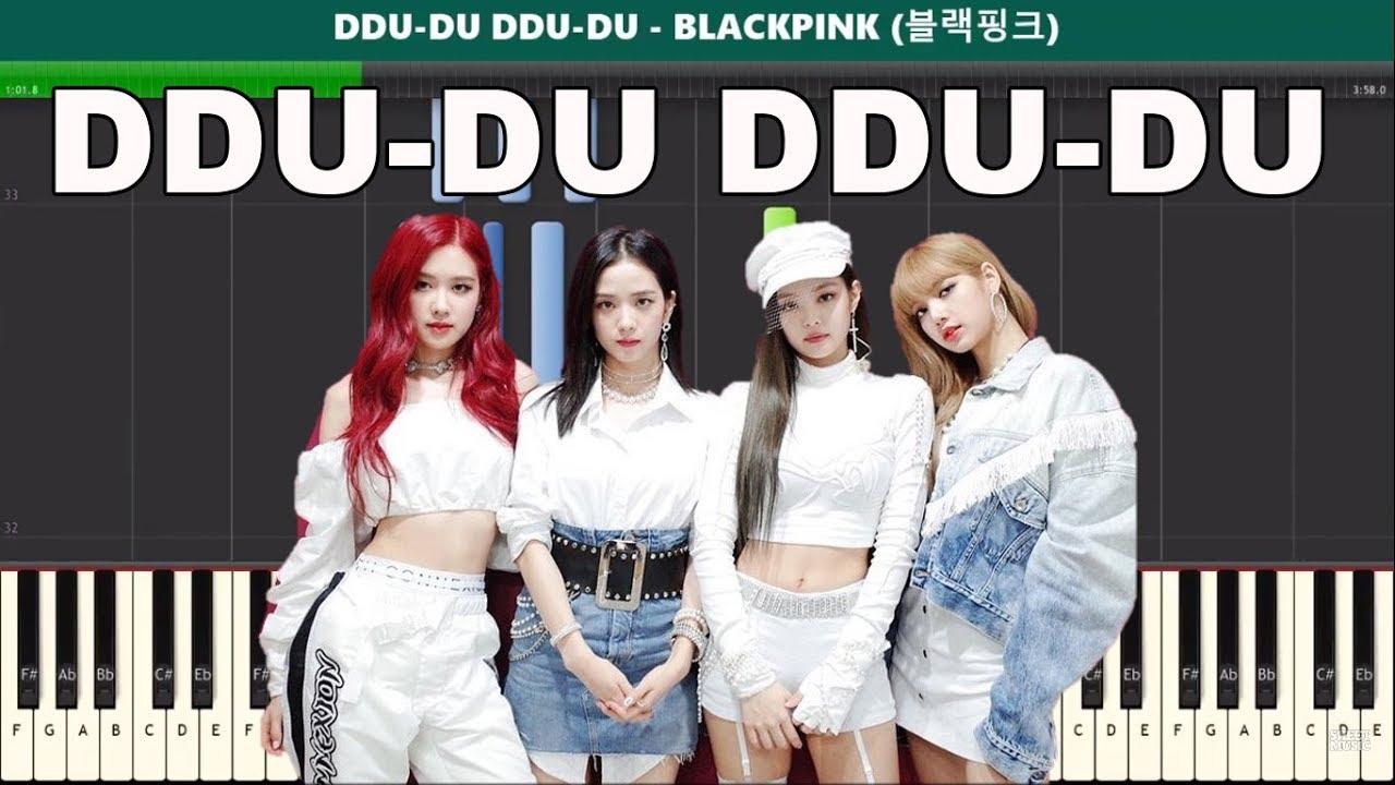 DDU-DU DDU-DU Piano Tutorial - Free Sheet Music (BLACKPINK 블랙핑크)