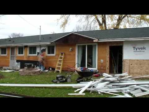 My Home Remodel Fixer Upper Part 3 Destroying The Outside Of House