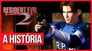A História de Resident Evil 2 - Enredo com Spoilers