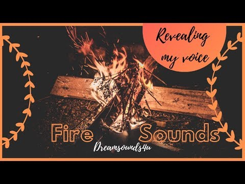 Fire Sounds At Night And A Little Chat - Dreamsounds4u