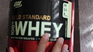 Optimum Nutrition Gold Standard 100% Whey Protein Powder - Review