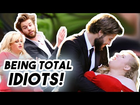 Liam Hemsworth and Rebel Wilson being IDIOTS for 7 Minutes  Funny Moments Isn&39;t It Romantic 2019