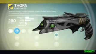 Destiny - A Light in the Dark - Exotic Bounty Walkthrough - How to get the exotic Hand Cannon Thorn
