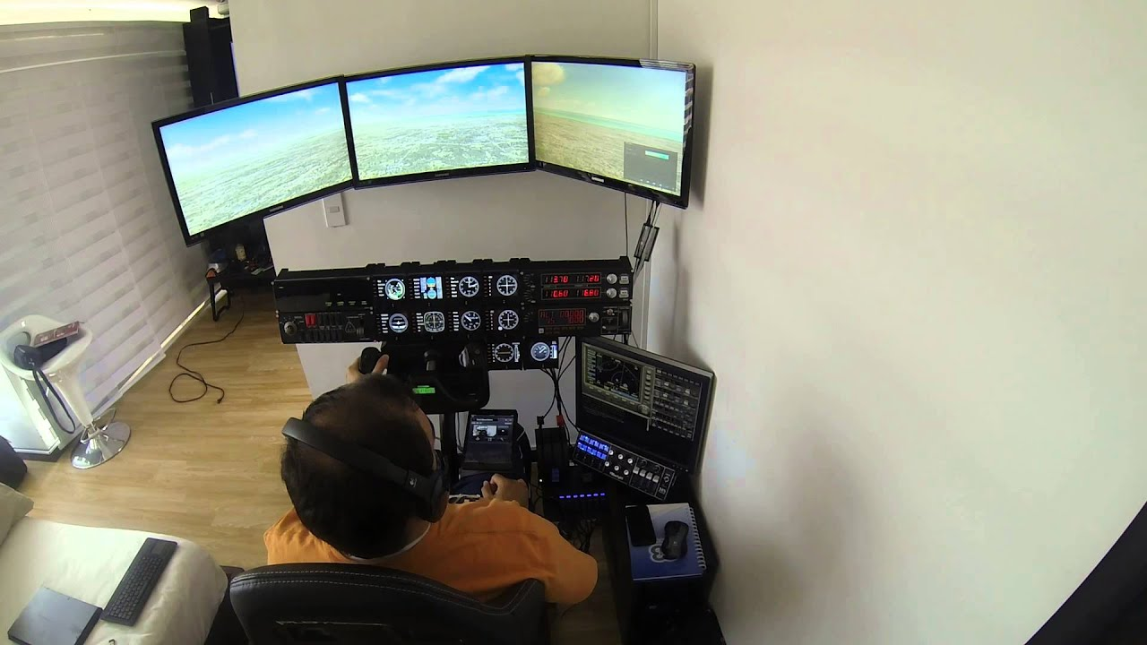 Simulador de vuelo en casa con fsx y saitek controls y for Simulador de casas 3d gratis