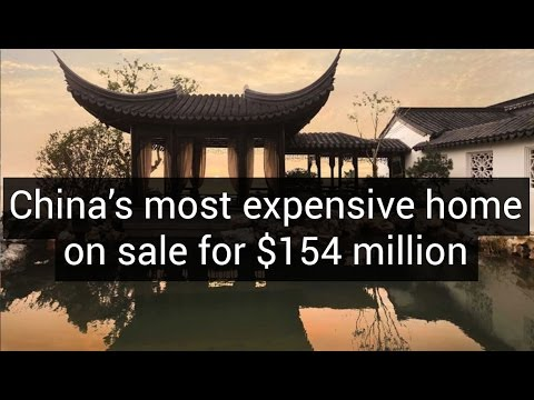 China's most expensive home on sale for $154 million |  Unique Architecture