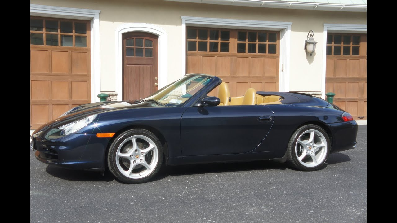 2003 Porsche 911 Carrera Cabriolet For Sale6 Speedheated Seatsbluetanbluelow Miles