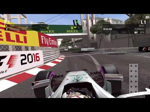 My Best Monaco Lap - F1 2016 Mobile