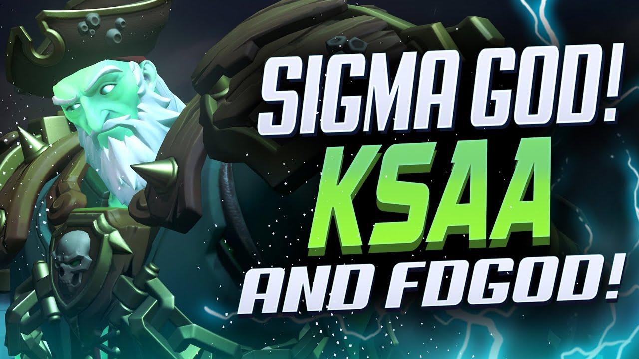 KSAA #1 SIGMA AND FDGOD PRO LUCIO! [ OVERWATCH SEASON 24 TOP 500 ]