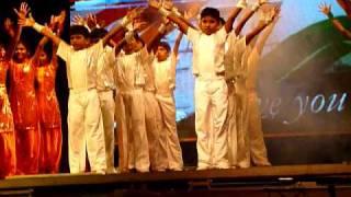 Srinivas Bharat - Patriotic Song from VAIBHAV 2011 @ Lakshmi Garden School, Vellore, India.
