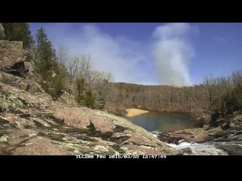 Ozark NSR - Denning Hollow Prescribed Fire Time Lapse