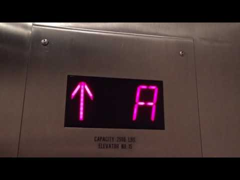 Loud! Westinghouse parking elevators at 3 Embarcadero Center in San Francisco CA