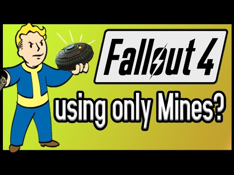 Can You Beat Fallout 4 Using ONLY Mines?