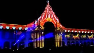 Vídeo  mapping na Praça do Comércio em Lisboa