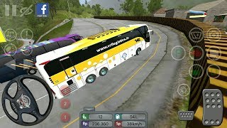 Passenger Transport to Padang City | Bus Simulator Indonesia - #75 Bus Games - Android GamePlay FHD
