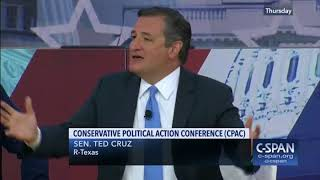Ted Cruz to Young People at CPAC: 'Speak the Truth; Spread the Fire of Liberty'